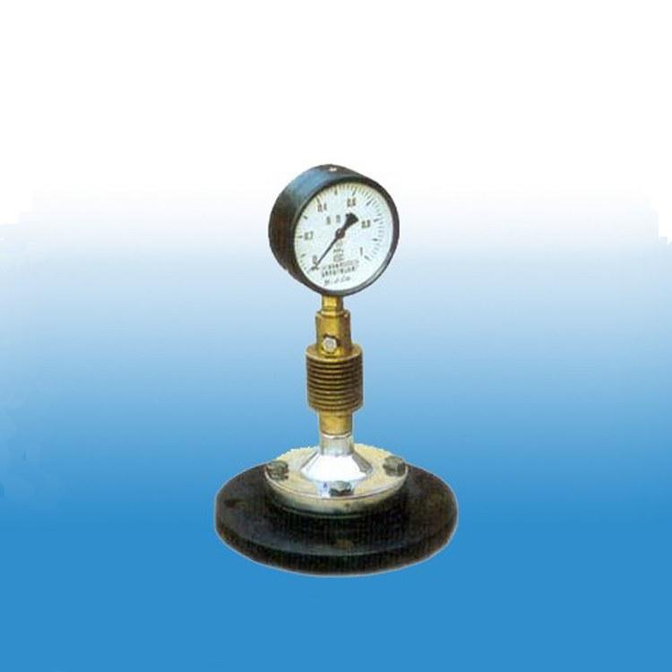 现货供应搪玻璃压力表 搪玻璃防腐蚀压力表反应釜专用规格齐全