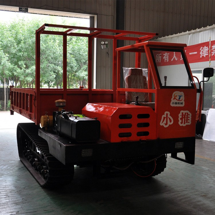 小推XT-8T 履带运输车 工程履带自卸车 8吨翻斗车 爬坡虎