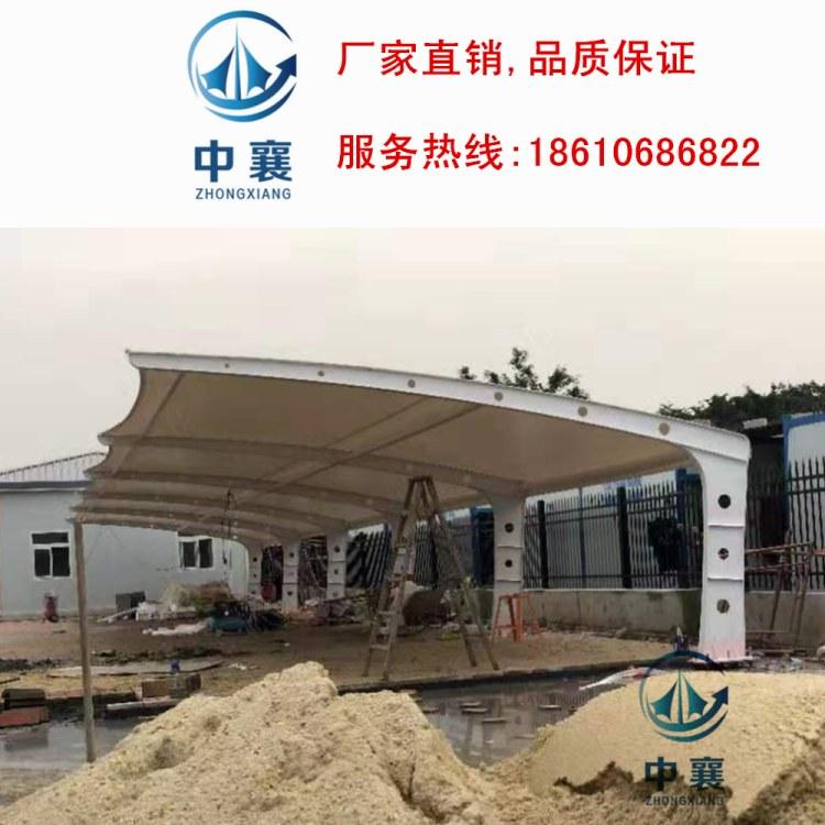 收费站膜结构 体育场膜结构 高速公路服务区膜结构停车棚安装定制