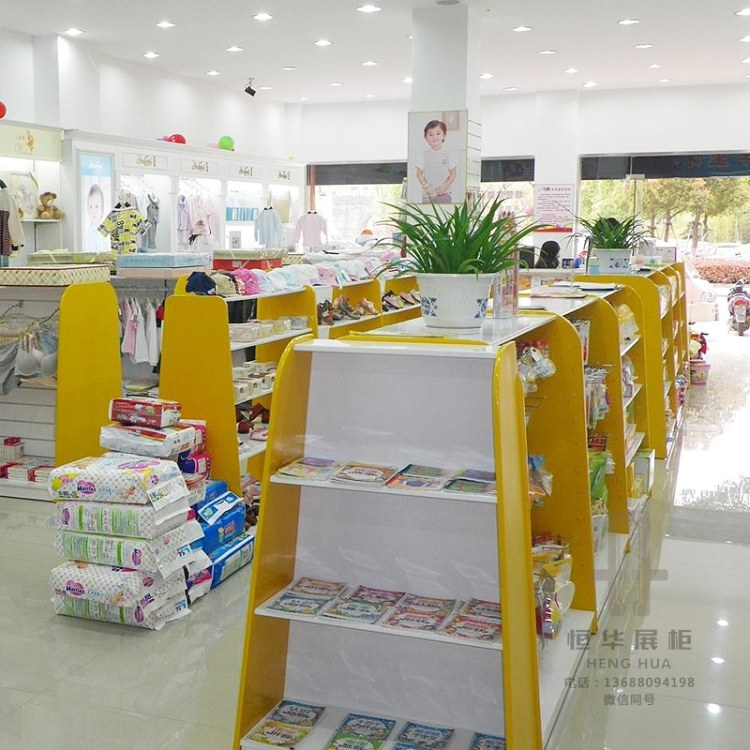 恒华展览 云南母婴用品柜 母婴柜厂家定制