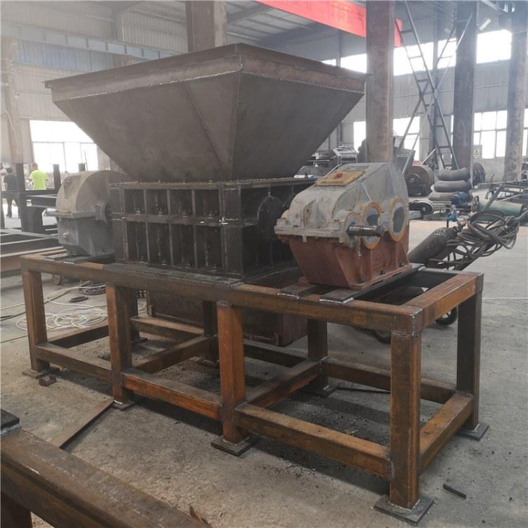 厂家批发废铝废铁破碎粉碎机 双轴式金属边角料破碎机价格