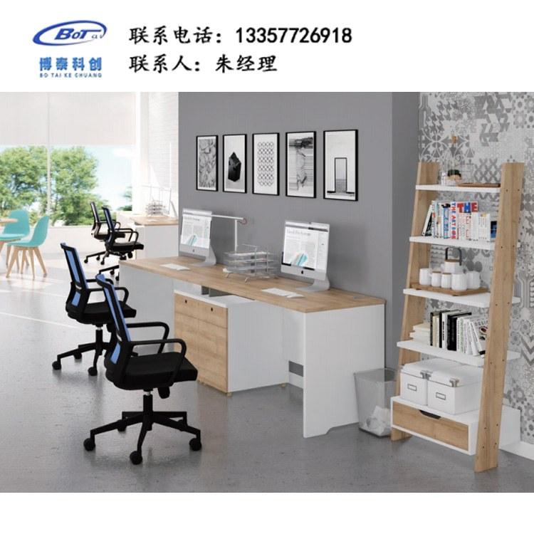 职员 屏风 工作位 现代简 约隔断办 公桌 板式 电 脑桌定制 PS-05
