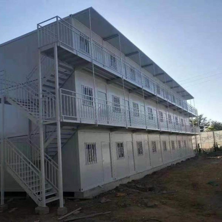 安徽合肥折叠式钢结构房住人集装箱房