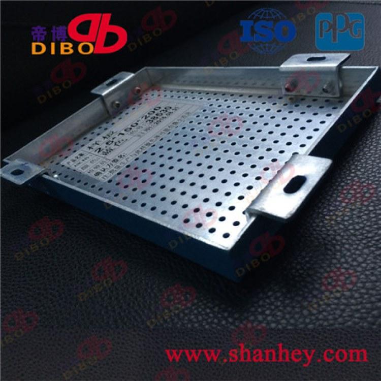 善禾铝天花铝幕墙厂家定制2.5mm氟碳冲孔造型门头铝单板