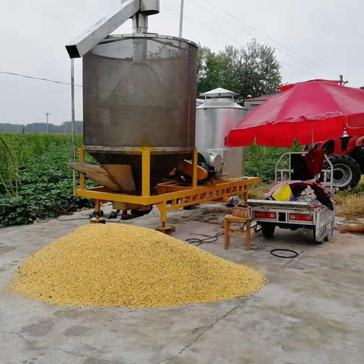郑州小太阳机械移动式玉米 自动上料玉米烘干机  粮食干燥设备厂家直销