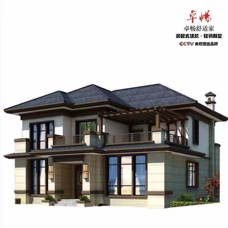 卓畅轻钢别墅30—价格优势,材料输送,技术输出,可自建可代理分销,可实地考察