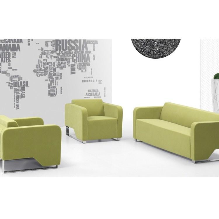 合肥办公室沙发现代简约商务休闲会客接待室办公沙发组合迪雷奥工厂店