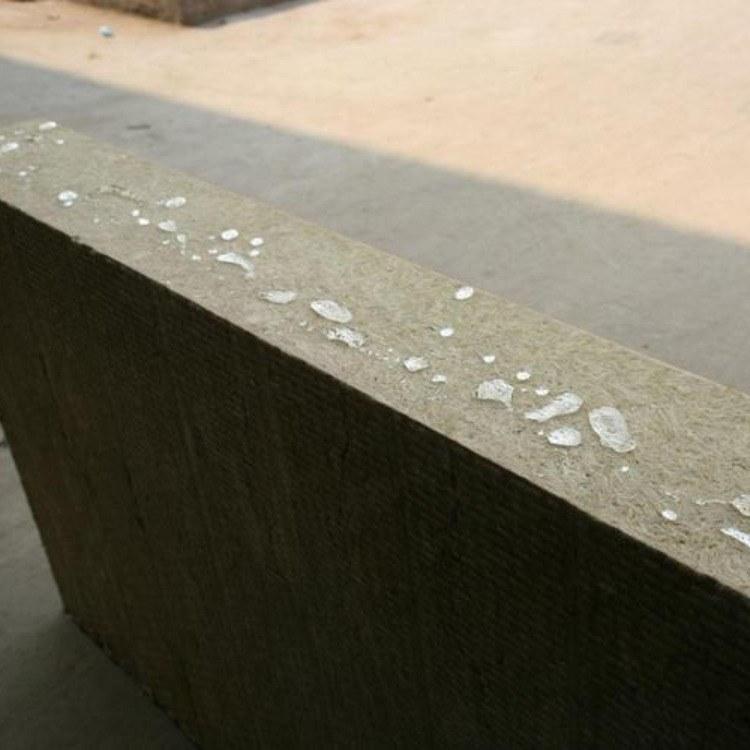 外墙优质板憎水岩棉板  A级防火阻燃保温材料  家装幕墙吸音板  砂浆复合板