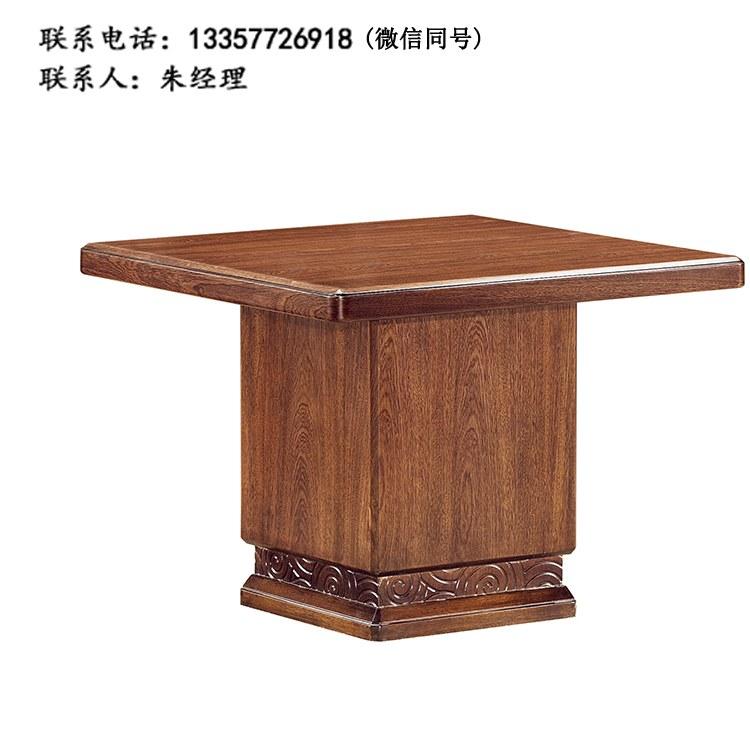 全实木茶桌茶台 复古客厅家具茶台 洽谈台 实木茶桌椅组合GJ-02