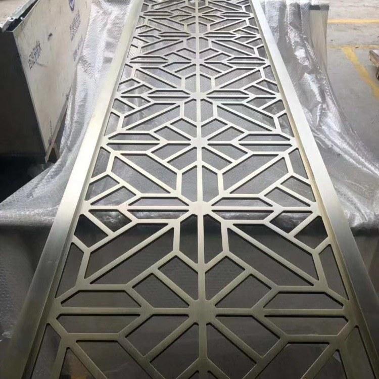 厂家直销 广东古典复古风铝雕屏风 铝屏风厂家 博匠金属