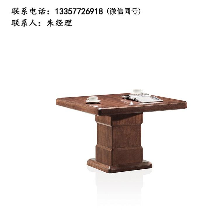 全实木茶桌茶台 复古客厅家具茶台 洽谈台 实木茶桌椅组合GJ-05