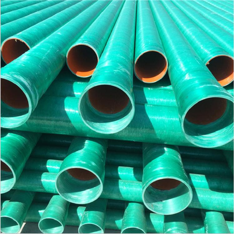 价格供应玻璃钢缠绕管道玻璃钢地埋式管道玻璃钢电力管道
