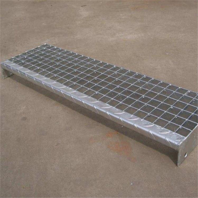 厂家直销热镀锌格栅板 钢格板 方格水沟盖板 踏步板 可定制