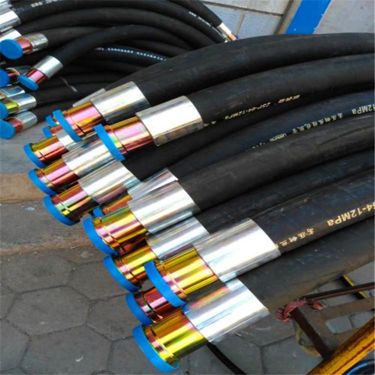 华北喷煤耐磨胶管高压油管钢丝缠绕胶管