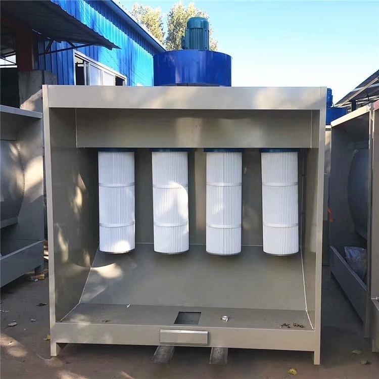 喷塑设备粉末回收机 家旭厂家直销高温烤房喷塑设备脉冲式塑粉回收柜