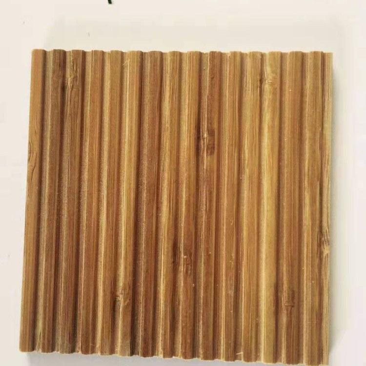诚旺竹木板材供应 竹波浪板  防腐竹波浪板 格栅板 格栅屏风纯侧压