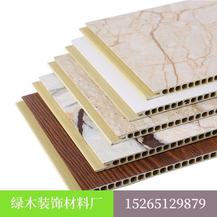 绿木厂家直销 竹木纤维集成墙板,竹木纤维集成墙板厂家