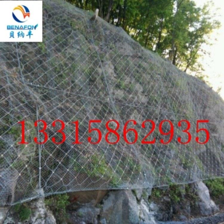 边坡防护网厂家,定制主动边坡防护网,柔性防护网