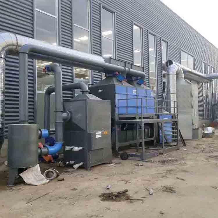 国威直销 vocs有机废气处理设备 工业废气活性炭处理装置 RCO催化燃烧设备
