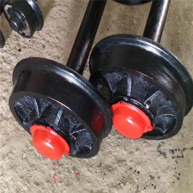 加工各种矿用车轮矿车轮矿用轨道轮单轴轮铸钢窑车轮台车轮平板轮