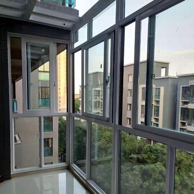 康博煒建材鋁合金門窗  斷橋鋁合金門窗廠家 一體窗接受定制