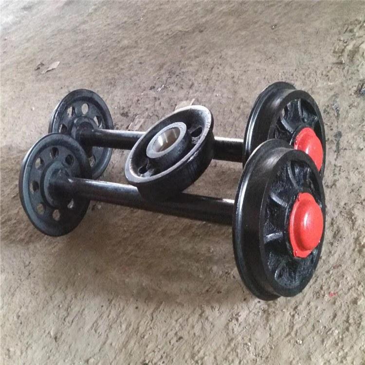 【特制】φ400重型轨道轮  铁路用轨道轮