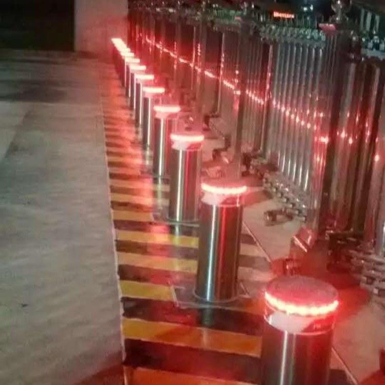 楚天升降柱北京厂家批发直销 液压升降路 反恐设备 电动路桩 路障机