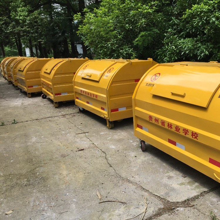 大型道路街道勾臂车载式垃圾箱垃圾车厂家直销