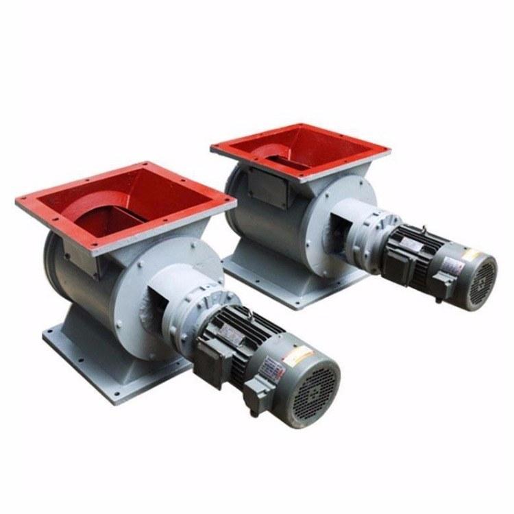 星型卸料器方口圆口卸料阀 防爆星型卸灰阀密封法兰除尘器专用手动YJD-300