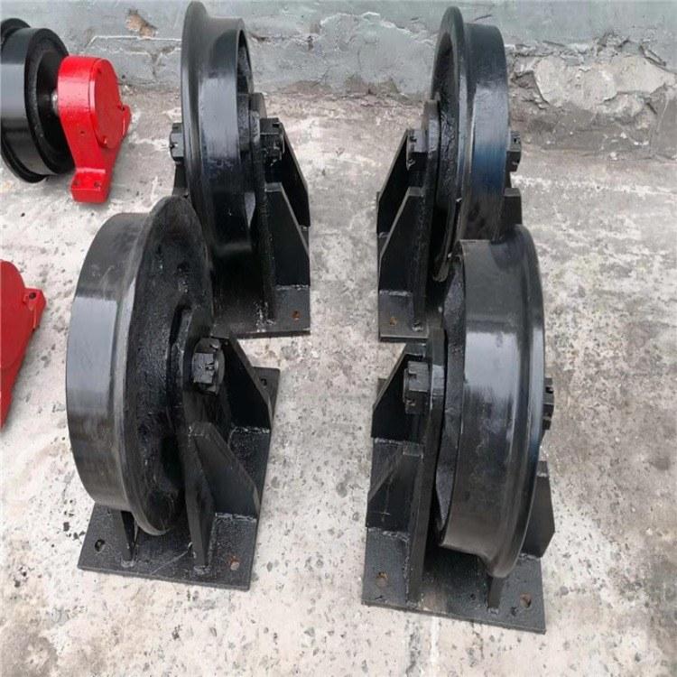 厂家直销矿车轮 加厚加宽300矿车轮 高强度淬火 铸钢材质矿车配件