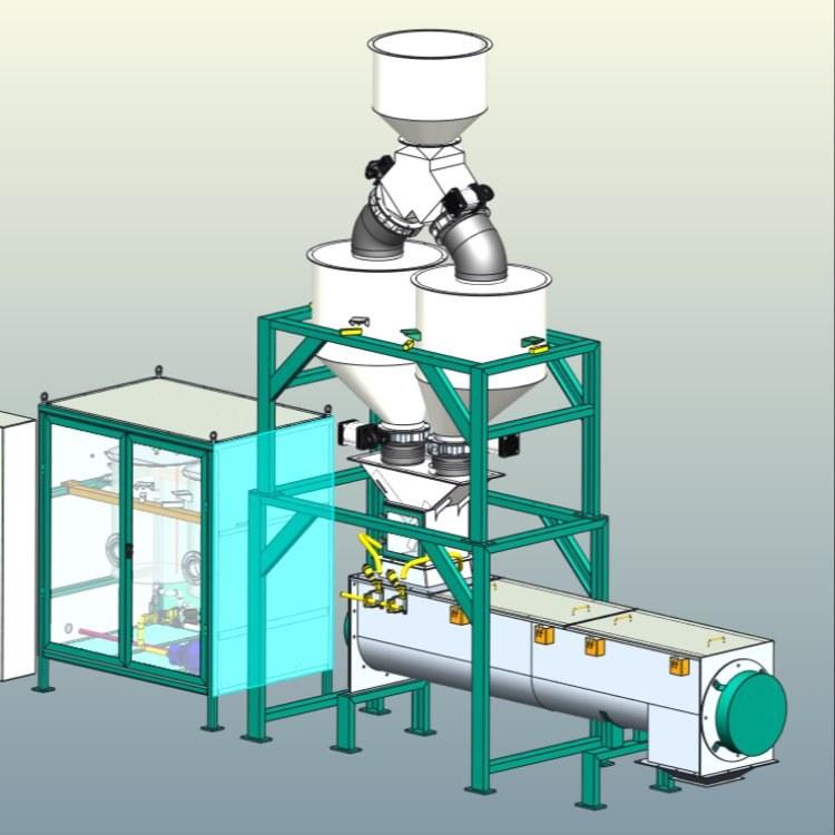 南菱工控新型节能油脂机 全国饲料厂专用油脂后喷涂系统设备批发销售