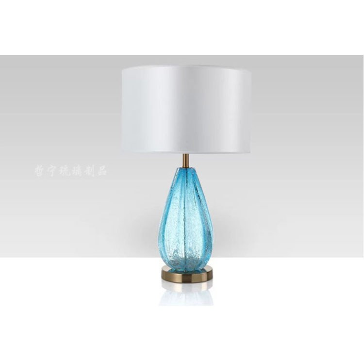 哲宁厂家直销琉璃台灯 简约轻奢琉璃台灯