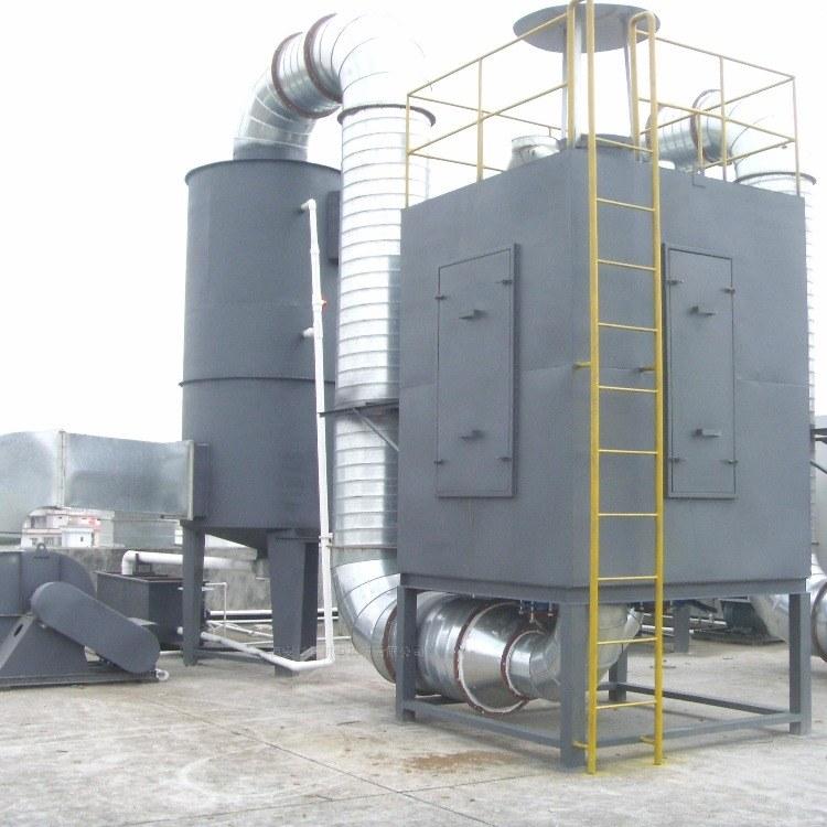 喷淋塔 酸碱洗涤塔 喷淋塔净化器 不锈钢喷淋塔 酸碱除臭净化洗涤塔 锐驰朗环保