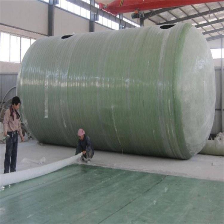现货供应玻璃钢储罐 立式玻璃钢储罐 化工玻璃钢储罐 玻璃钢缠绕储罐重量轻便
