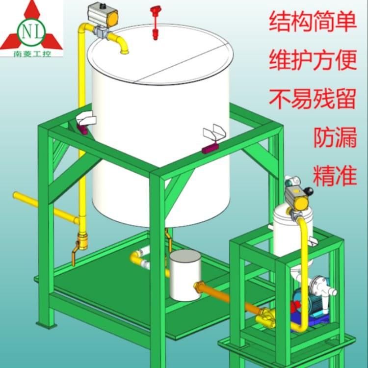 南菱工控油脂计量称重机 饲料厂油脂添加系统控制设备方案
