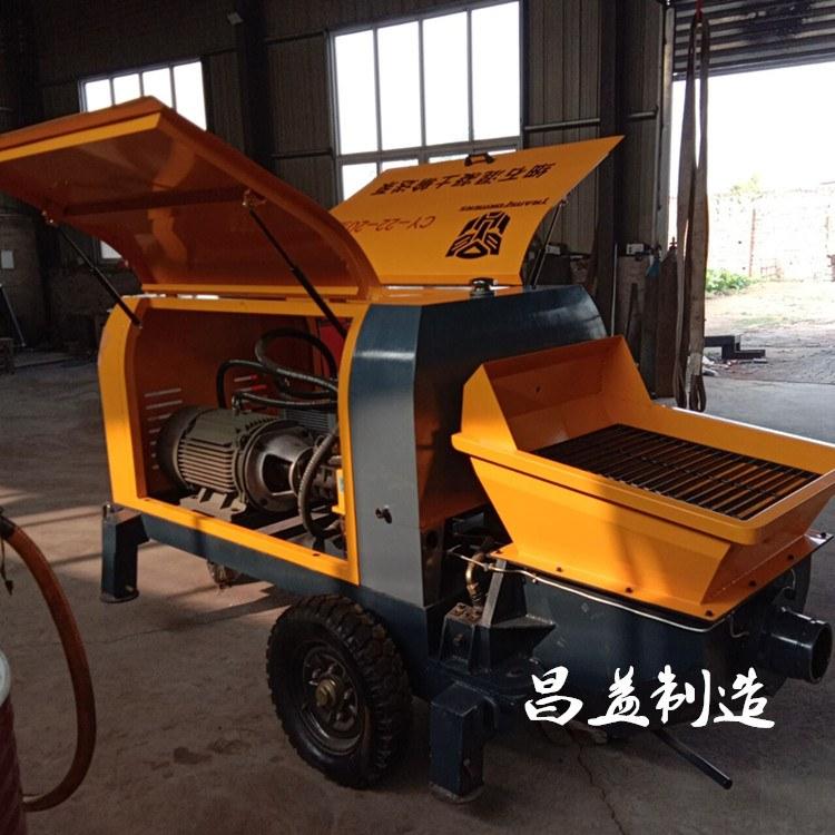 构造浇筑泵二次构造柱泵混凝土输送泵搅拌车直供大小型砂石上料机