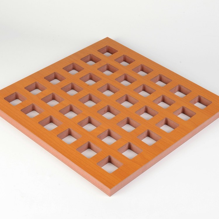 穿孔吸音板价格 室外隔音板厂家 木质吸声板报价