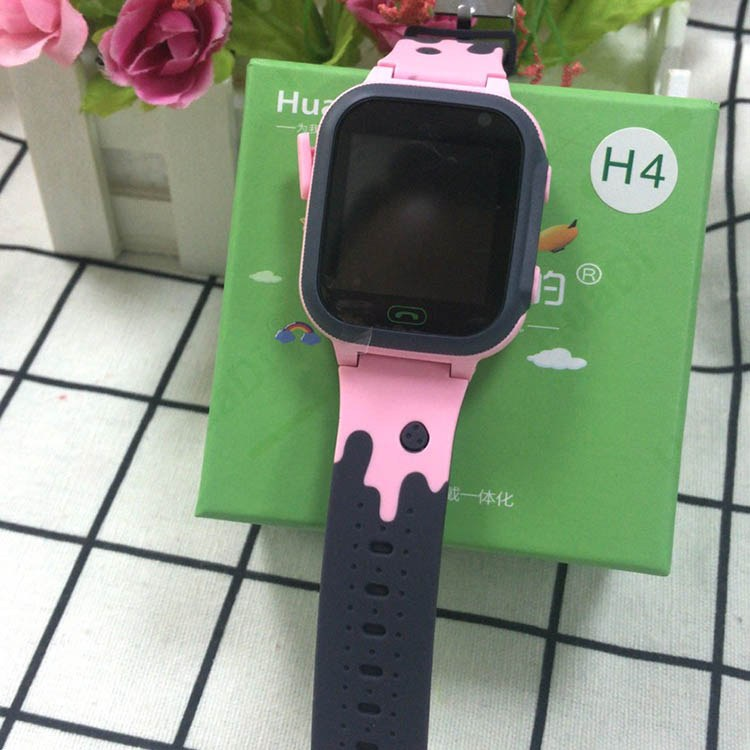 HuaDi华的儿童智能电话手表H4 防水触模 双向通话 自由拨号