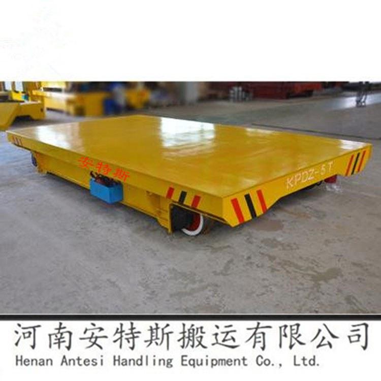 河南安特斯平板车轨道电动平车蓄电池转运车轨道平车电动厂家