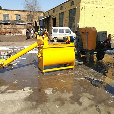 大型水泥发泡机40型视频教程铜川开泰机械