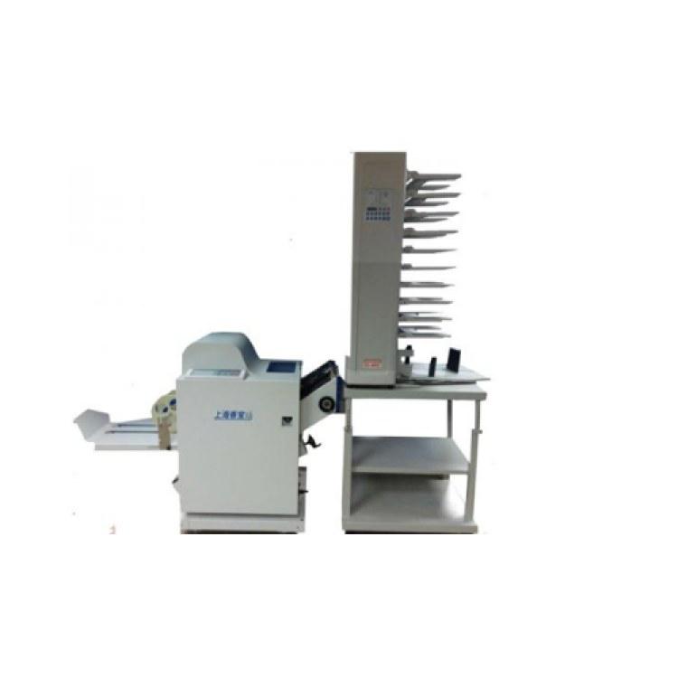 山西配订折 EC-4800+XB-USF-W 铁丝订折 全自动配页机 厂家生产 价格低