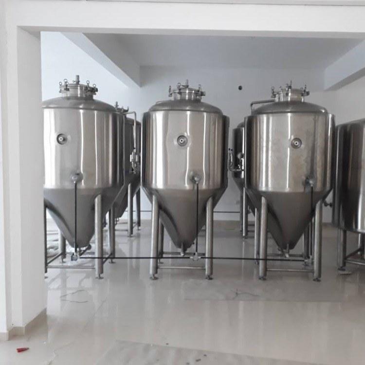 1500发酵罐 精酿啤酒设备 加工定制 清吧专用 啤酒设备 自酿设备