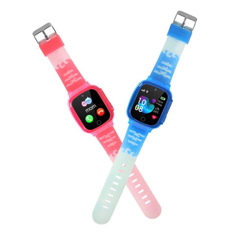 HuaDi华的儿童智能电话手表H12 超长待机   自由拨号  深度防水 全触高清模屏