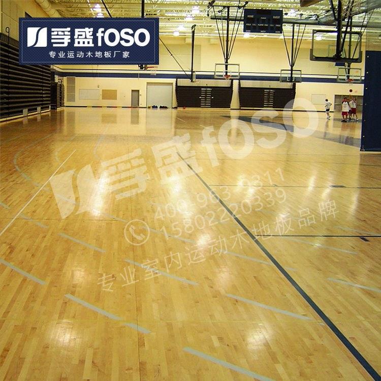 体育实木运动木地板羽毛球馆运动实木地板