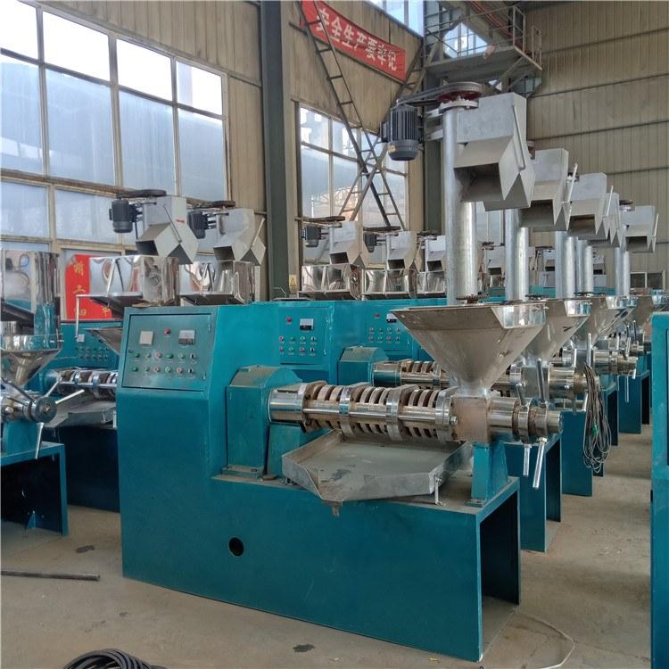 大型单相电流动螺旋榨油机设备多功能螺旋榨油机