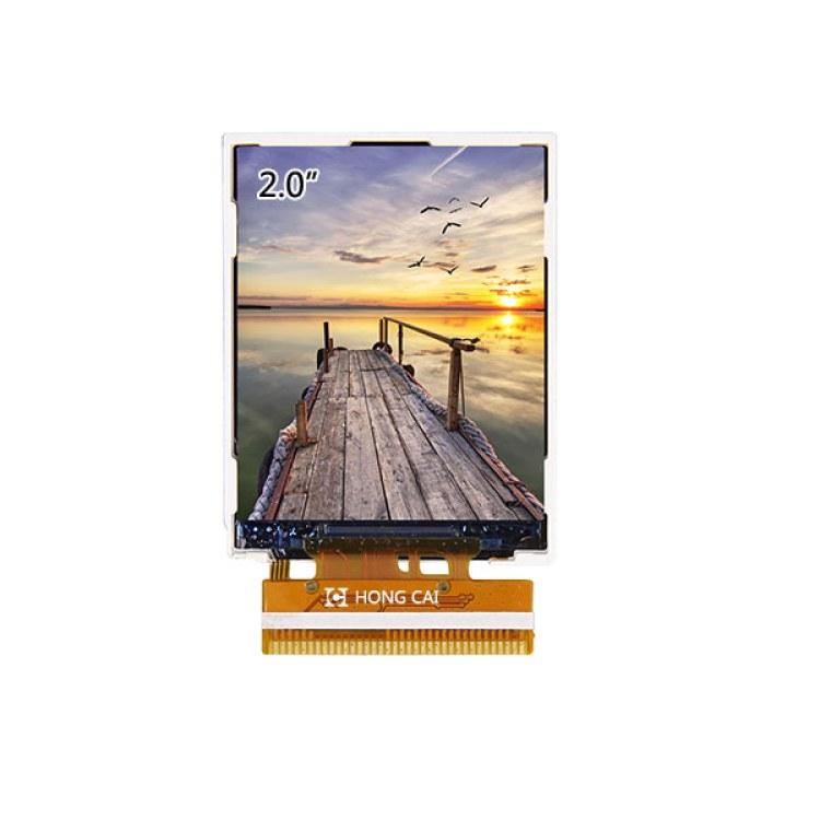 2.0寸RGB接口QVGA IPS屏2.0寸RGB接口240*320 IPS显示屏RGB+SPI