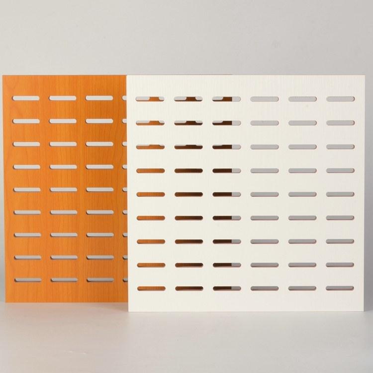 木质穿孔吸音板价格 吸音隔音板批发 吸声板厂家