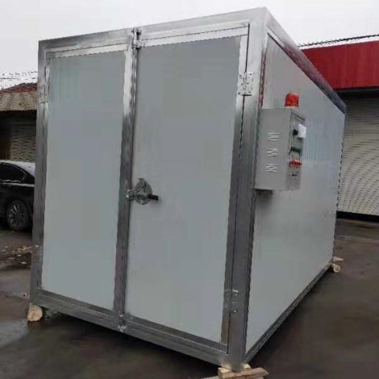 电加热高温烤漆房厂家批发