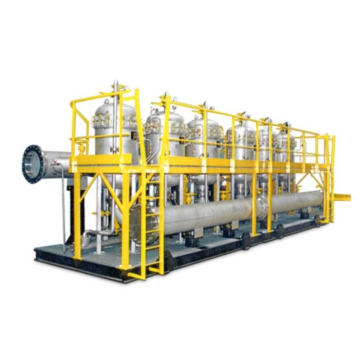 电动反冲洗水过滤器/撬装过滤系统 厂家大流量高精度卓诺 ZF-Q-108