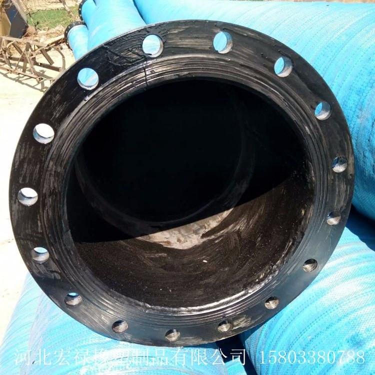 大口径夹布胶管 低压夹布胶管 低压橡胶管 宏禄橡塑